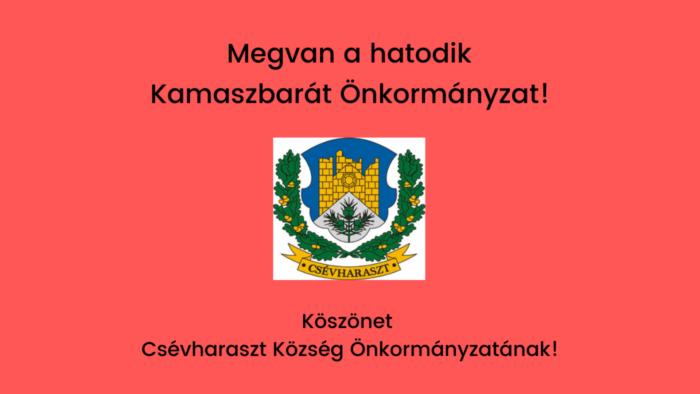 Csévharaszt Kamaszbarát Önkormányzat
